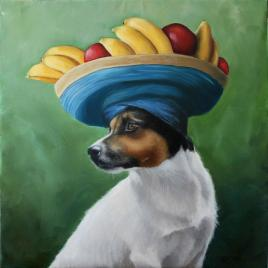 2019-02-25 dog wearing hat